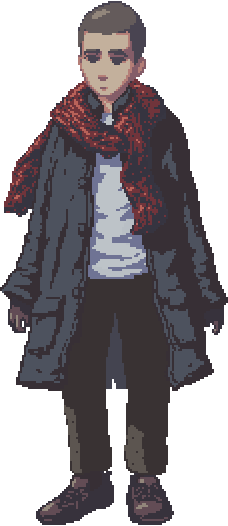 pixelart scarf guy (not a self portrait)